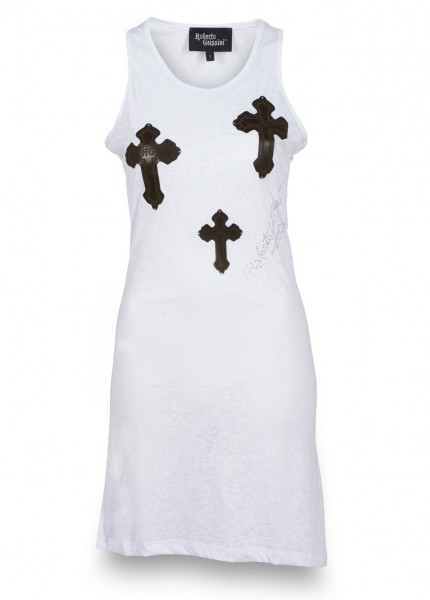 KLEID THREE CROSSES MINI