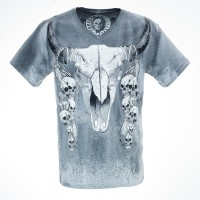 T-SHIRT BULL HORNS ST.